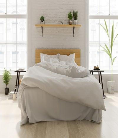 Maholi - 100% Organic Cotton Percale Duvet Cover Set